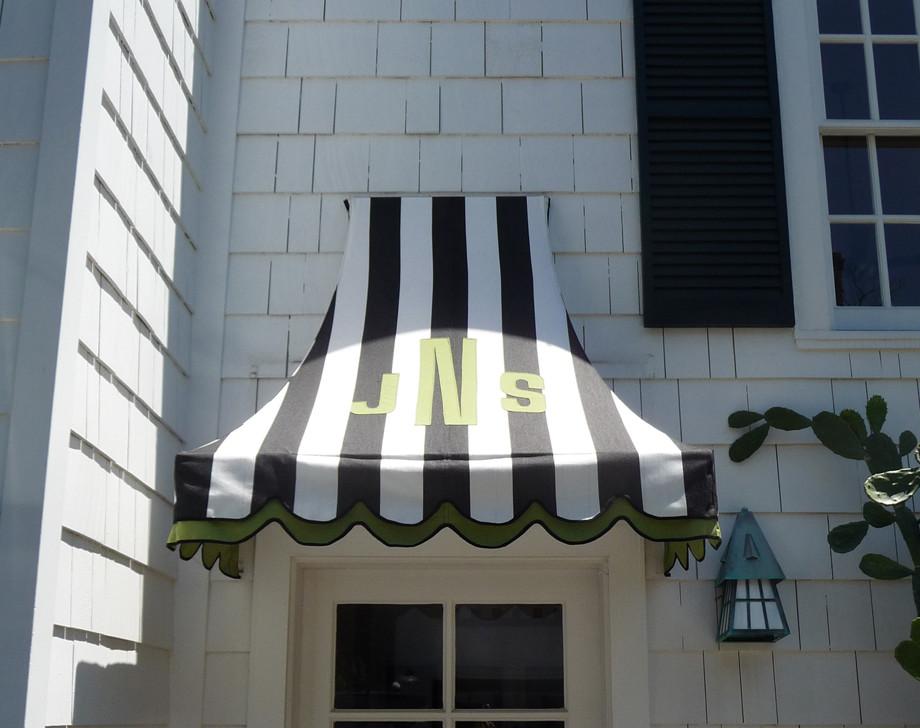 Customized Fabric Awning